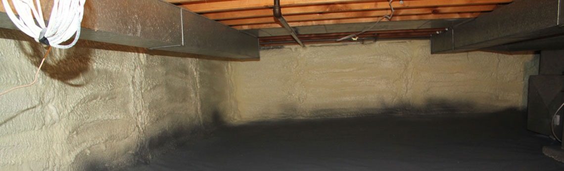 crawl space insulation in Kansas